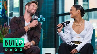The Multiple Kissing Scenes Between Chris Hemsworth & Tessa Thompson That Were Cut From Films