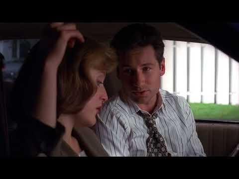 Scully Mulder scene