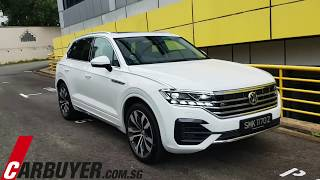 2019 Volkswagen Touareg  - CarBuyer.com.sg / CarBuyer Singapore Walkaround