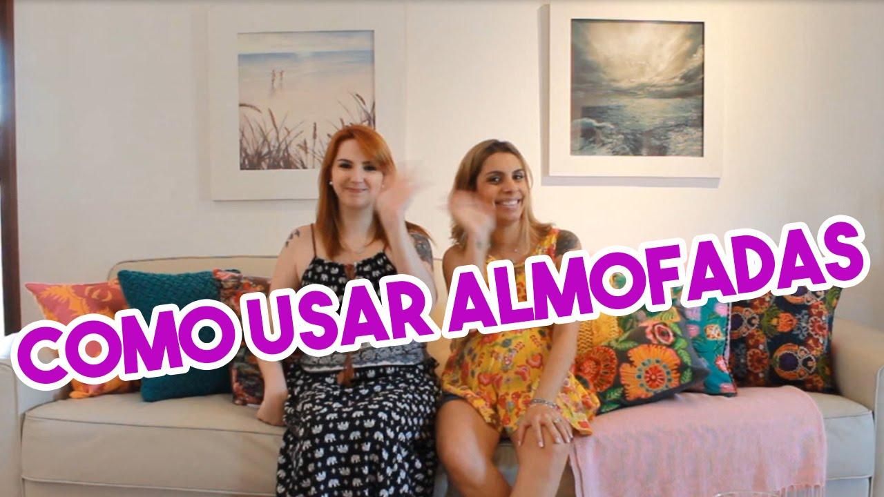 Como decorar sof usando almofadas e manta youtube for Manta no sofa como usar