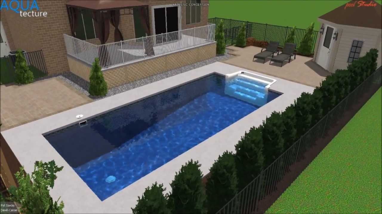 Trevi p savoia 2013 flex finlandaise 28 39 youtube for Piscine creuse
