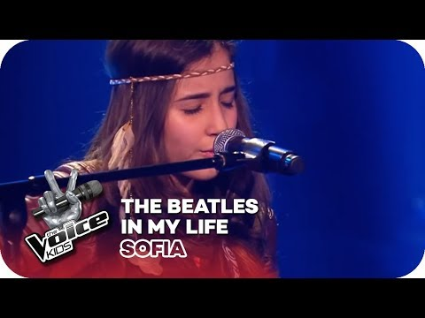 The Beatles - In my life (Sofia) | Blind Auditions | The Voice Kids 2016 | SAT.1