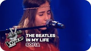 The Beatles In My Life Sofia Blind Auditions The Voice Kids 2016 SAT 1