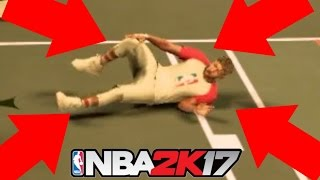 i injured him torn acl in park nba 2k17