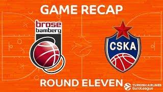 Highlights: Brose Bamberg - CSKA Moscow