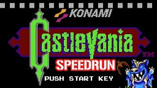Castlevania (NES) Speedrun in 12:20.15 | DevinBrodie25
