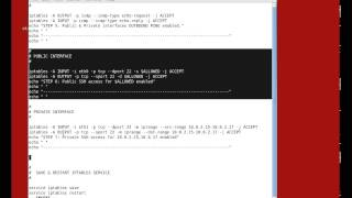 SoftLayer - Tutorial Twenty - Part 7 - Linux Security with Iptables