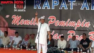 Ketua FPI Jakarta Utara: Tinggalkan Partai Pengusung Ahok, Usir Timsesnya!