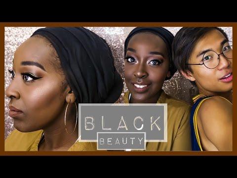 Black Beauty Makeup ▷ Marc Zapanta