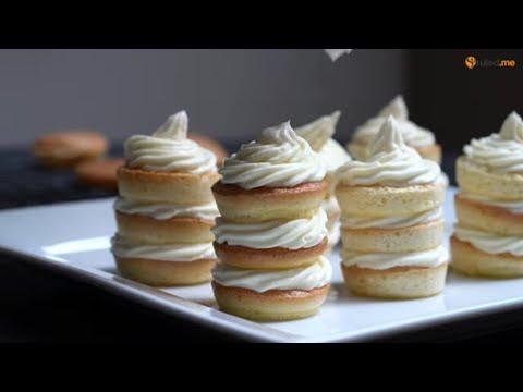 Keto Recipe – Mini Vanilla Cloud Cakes