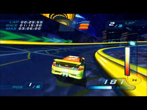 Hot Wheels World Race Seared Tuner on Space Out