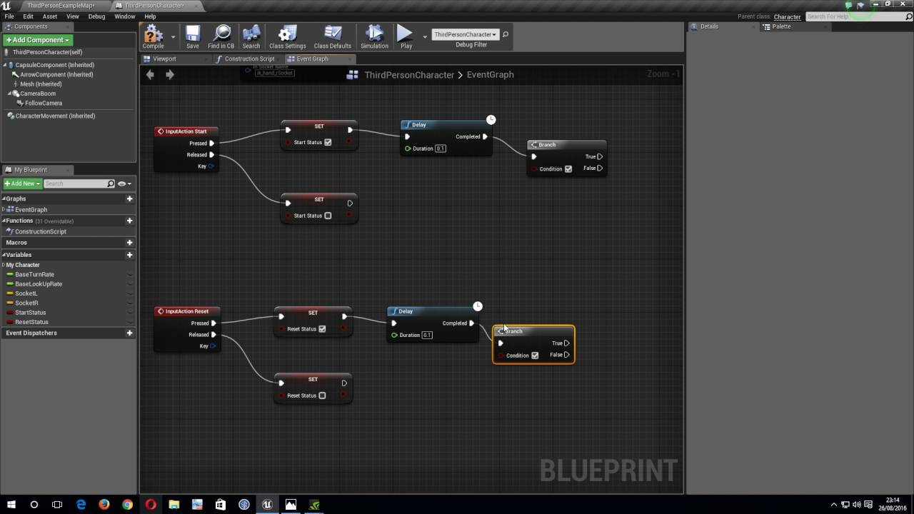 Ue4 run an action whether two buttons are pressed at the same time ue4 run an action whether two buttons are pressed at the same time youtube malvernweather Choice Image