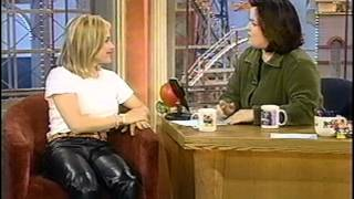 Patricia Arquette in leather pants
