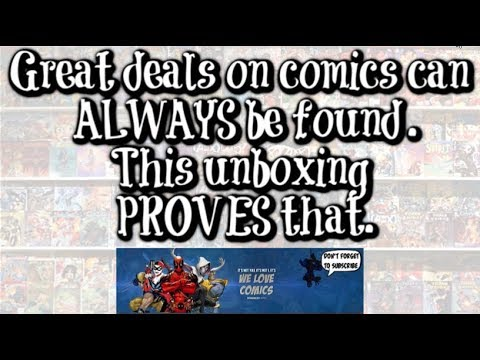 Key comic unboxing. Deals can always be found.
