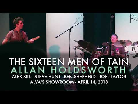 The Sixteen Men of Tain at the Allan Holdsworth Memorial Concert at Alvas Showroom