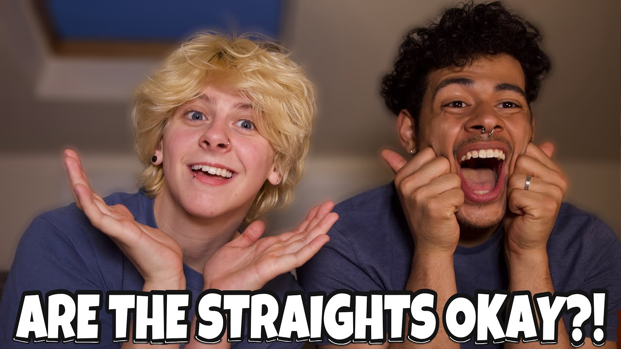 STRAIGHT PEOPLE BEING FUNNY FOR ONCE? (BISEXUALS REACT) | NOAHFINNCE FT NOTCORRY