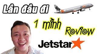 Lần Đầu đi máy bay một mình | Review Máy Bay Jetstar | Du Lịch Ăn Uống Quy Nhơn #00
