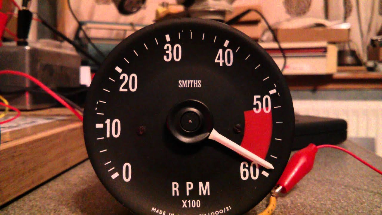 Customers Tachometer on test