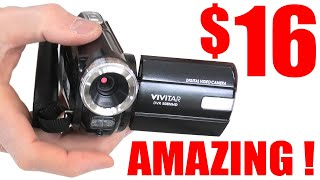 Worlds Cheapest and Amazing Camcorders  EPIC VIDEO