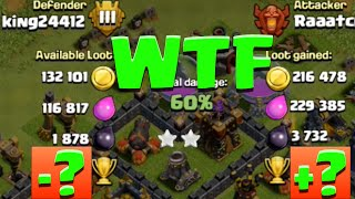 "Most Trophies i""ve Ever Lost In 24 hours On Defense In Clash of Clans"