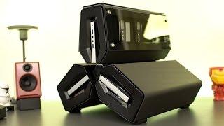CRAZY PC CASE 2.0 - Tristellar Hand Made Window Edition!
