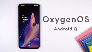 Oxygenos Running Android Q