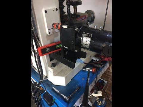 PM-727 Mill Z Axis Power Lift