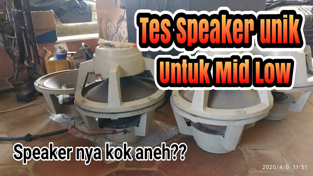 Review Speaker Unik Legendaris Electro Voice Sp12b Youtube