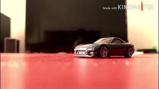 Hotwheel Mazda rx-7 || A cinematic film