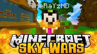 Minecraft MEGA SKY WARS +18 w/ TEAM GOODNESS