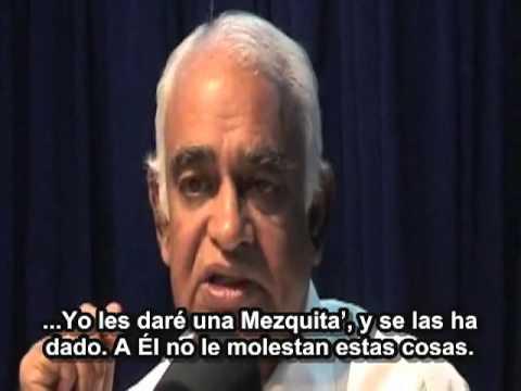 Prof. G. Venkataraman -Souljourns en Español.