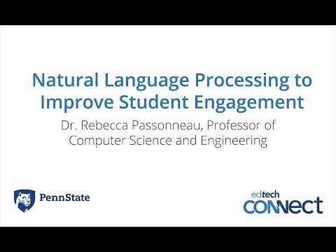 Natural Language Processing to Improve Student Engagement