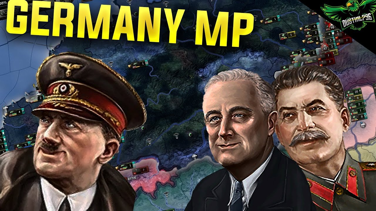 HOI4 Multiplayer - Germany Path to Endsieg (hearts of iron 4 germany  multiplayer)