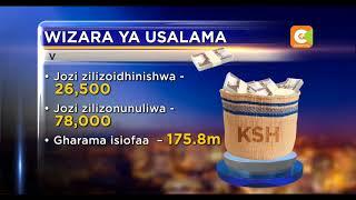 Ripoti yaashiria kuweko ufujaji wa fedha katika wizara ya Usalama wa Taifa