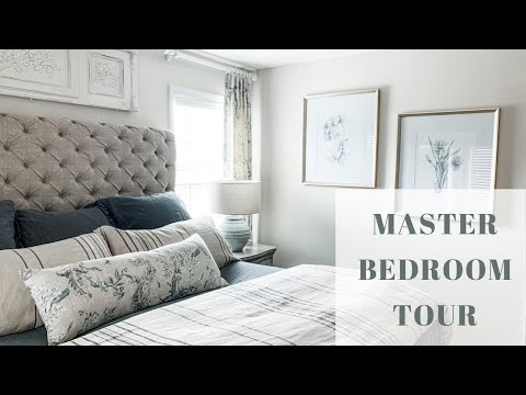 My Master Bedroom Tour | Interior Design | Decorate With Me