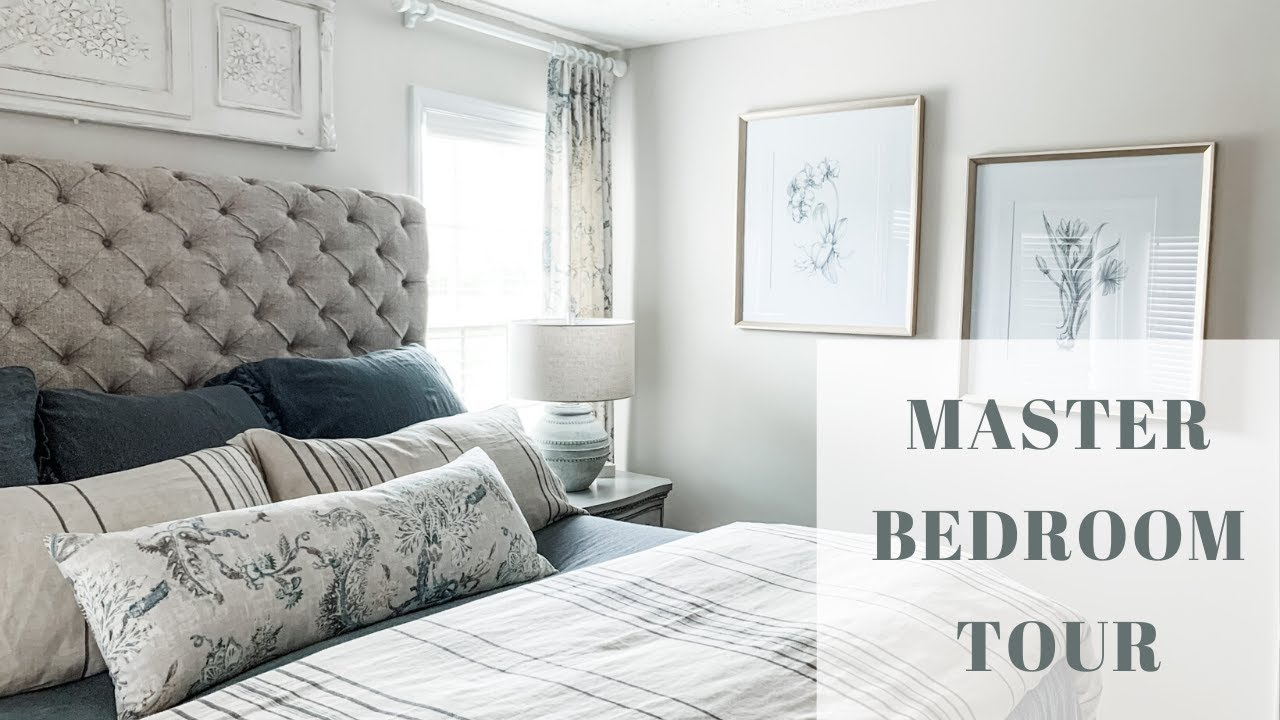 My Master Bedroom Tour Interior Design Decorate With Me Youtube