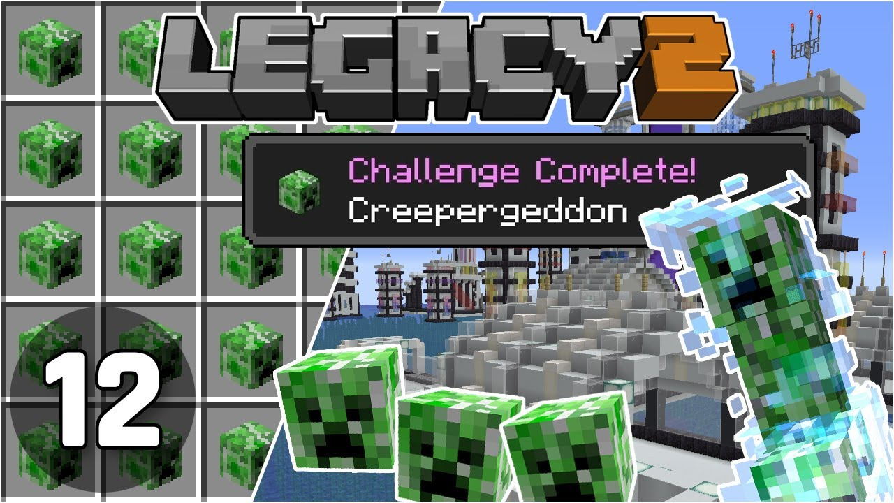 Creepergeddon: Mob Head Farm Fixed! - Legacy SMP 2: #12 | Minecraft 1.16 Survival Multiplayer