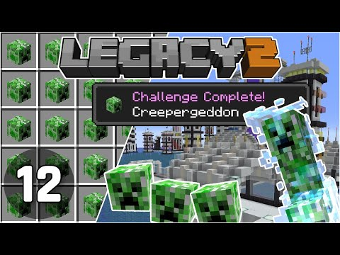 Creepergeddon: Mob Head Farm Fixed! - Legacy SMP 2: #12 | Minecraft 1.16 Survival Multiplayer