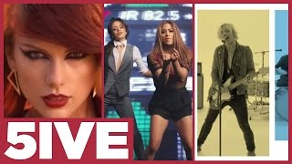 Top 5 Music Videos of 2015 Part 2 ft. Taylor Swift & R5