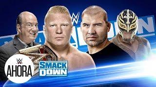 Cain y Brock cara a cara: WWE Ahora, Octubre 25, 2019