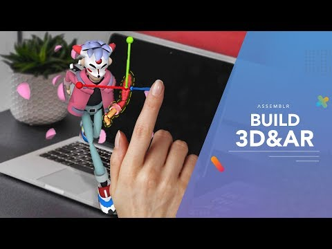 BUILD 3D AND AR ON MOBILE PHONE! : Assemblr