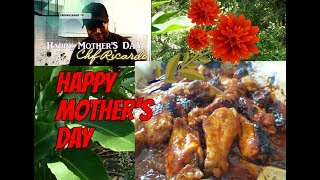 Oven BBQ Chicken wings -How To Get Your Chicken Wings Ready For Mother's Day