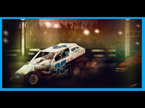 """""""Ransomville Speedway"""" Painting Time Lapse (Don Anderson #35)"""