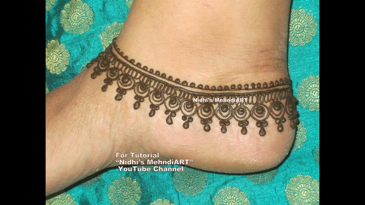 Mehndi Ankle Instagram : Best punabi mehndi designs images henna tattoos