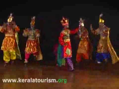 Chavittunatakam, a theatrical art form of Kerala
