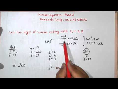 SSC CGL Number System Part 3