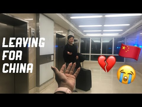 Interracial Couple Ambw Surprise + Leaving For China (emotional)