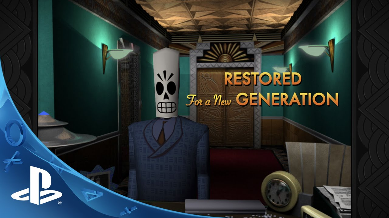 Grim Fandango Remastered  - Launch Trailer | PS4