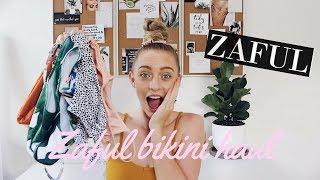 ZAFUL TRY ON BIKINI HAUL | Ellie Kate