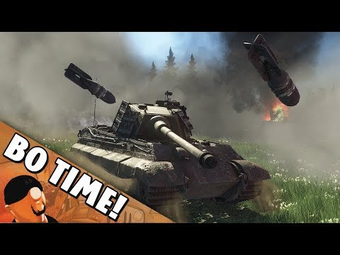 "War Thunder - Tiger II Sla.16 ""Weaponized Bushes!"""